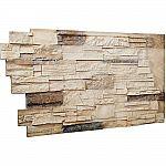"Ekena Millwork 1.5""x48""x25"" Sonora Desert Urethane Dry Stack Stone Wall Panel $88 (48% off)"