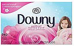 240-count Downy April Fresh Fabric Softener Dryer sheets $5.29