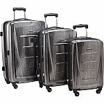 Samsonite Winfield 2 Fashion Hardside 3 Piece Spinner Luggage Set $160