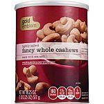 18.25 oz Gold Emblem Fancy Whole Cashews $5.99 and more