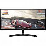 "LG 34"" IPS WFHD (2560 x 1080) Ultrawide Freesync Monitor $250"
