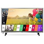 LG 32-Inch Smart LED TV + $100 Dell Promo eGift Card for $209