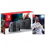 Nintendo Switch Console with Bonus FIFA 18 Game $299 (or $259 for the Switch Console only)