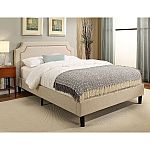 Abbyson Living  Allegro Queen Platform Bed $150 (50% Off) + Free Shipping