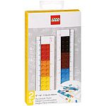 "Lego Stationery 12"" Buildable Ruler with Building Bricks $8.40"