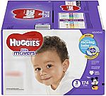 174-Ct Huggies Little Movers Diapers (Size 3) $23.35