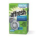 affresh Washer Machine Cleaner, 6-Tablets, 8.4 oz $8.38