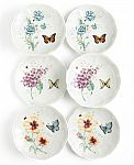 Lenox Set of 6  Butterfly Meadow Party Plates $27.99 (Org $70) + Free Shipping