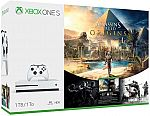 Xbox One S Assassin's Creed Origins Bonus Bundle (1TB) $239.99