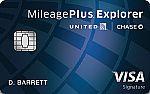 United MileagePlus® Explorer Card - Earn 40,000 bonus miles,  $0 Introductory annual fee