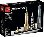 LEGO Architecture 21028 New York City Skyline Collection $48 (Save 20%)