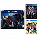 PlayStation 4 Pro 1TB Star Wars Console+Final Fantasy Dissidia+Warrior All Star $399.99