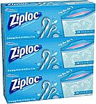 84-Count Ziploc Limited Edition Holiday Freezer Bags (Gallon) $5.84 (Add-on item)