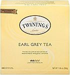 100Ct Earl Grey Twinnings Tea $7
