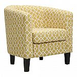 Kohl's Cardholders: Riley Barrel Arm Chair (various colors) + $10 KC $84