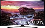"Samsung 65"" Curved 4K Ultra HD Smart TV (2017 Model) + $350 Dell Promo eGift Card $1000"