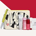 Shiseido Free 7-pc Gift Set with $75 Purchase, Up to 29-pc gift (Including a Full-size)+ Free Shipping