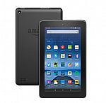 Amazon Fire 7 Tablet 16GB, 2015 Model (Includes Special Offers - Refurbished) $20