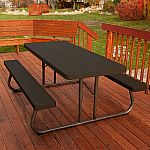 Lifetime 6' Picnic Table - Brown $129 shipped