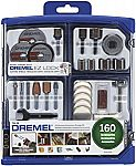 160-piece Dremel 710-08 All-Purpose Rotary Accessory Kit $18 (60% Off)