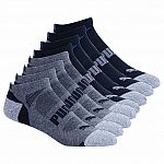 Puma No Show Sock 8-pair $9 + Free Shipping