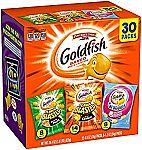 30 Bags Pepperidge Farm Goldfish Variety Pack $6.50