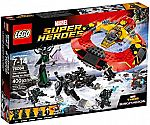 400-Piece LEGO Marvel Super Heroes: The Ultimate Battle for Asgard $36.50 (org $50)