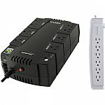 CyberPower SE425G Uninterrupted Power Supply with P606 Home Office Surge Protector Kit $30 (Save 50%)