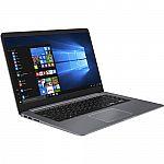 "ASUS 15.6"" VivoBook S15 S510UQ Laptop (i7-8550U 8GB 128GB+1TB 1080p GeForce 940MX) $699"