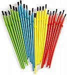 Darice 24-Piece Kids' Paint Brush Assortment $2.13