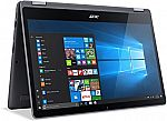 """Acer Aspire R 15 Convertible Laptop (i5-7200U  15.6"""" FHD Touch 8GB 1TB Steel Gray, R5-571T-57Z0) $479"""