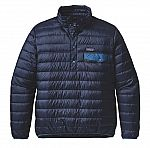 Patagonia Men's Down Snap-T Pullover $99 (50% off)