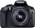 Canon Rebel T6 Digital SLR Camera with/18-55mm Lens $330