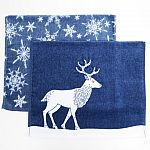 Holiday Bath Towels and Rugs Collection Blue $1.78 and more (70% off)
