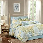 Cape May 8 Piece Cotton Comforter Set (Queen or King) $30 (Save 91%) and More