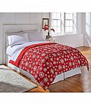 LivingQuarters Down-Alternative Comforter (twin/queen) $14.40 + Free Shipping w/$25+