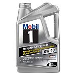 Mobil One 5QT Full Synthetic Oil - $8 (After $12 Rebate - YMMV)