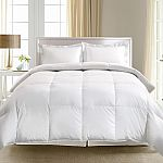 Hotel Suite White Goose Down & Feather Comforter, King $42 (for Kohls Cardholders)