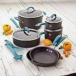Rachael Ray Cucina 12-pc. Hard-Anodized Nonstick Cookware Set $69 AR (Kohls Card Req'd)