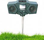 Abco Tech ABC2153 Ultrasonic Solar Animal & Pest Repeller $24.99