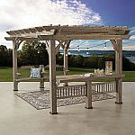 Backyard Discovery 14' x 10' Pergola with Electric Capabilities $799 (Pickup) or $999 Shipped