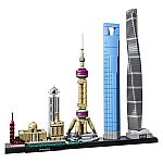 LEGO Architecture London Skyline Collection 21034 Building Set (468 pieces) $24, Architecture Shanghai 21039 $36 and more