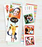 "Walgreens: Set of 4 2""x7"" Stationery Bookmarks (Various Choices) for Free"