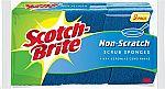 2 pack of 9 Scotch-Brite Non-Scratch Scrub Sponge, Clean Tough Messes Without Scratching $7.57