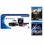 PlayStation VR Skyrim Bundle+Resident Evil 7 + Star Wars Battlefront II $350