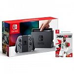 Nintendo Switch Console with Bonus NBA 2K18 Game $329