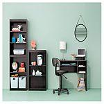 Target - 3 Shelf Bookcase (Espresso / Black / White) $16.59 & More
