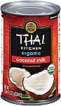 Thai Kitchen Organic Coconut Milk, 13.66 oz (Pack of 6) $8.83 and more