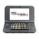 New Nintendo 3DS XL Console (Black) $168.29 + Free Shipping