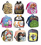 """16"""" Kids' Character Backpacks (various styles) 2 for $7.50 + Free Shipping"""